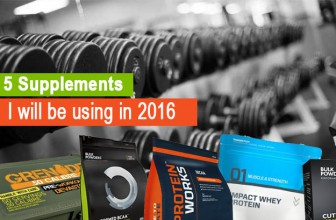 5 Supplements That I WILL Be using In 2016