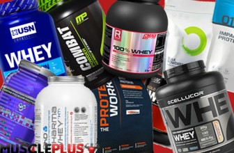 Top 10 Best Whey Protein Powders 2017