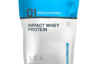 MyProtein Impact Whey protein Review